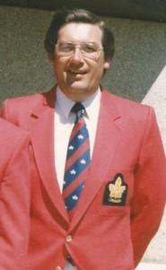 Coach at Commonwealth Games in Edinburgh